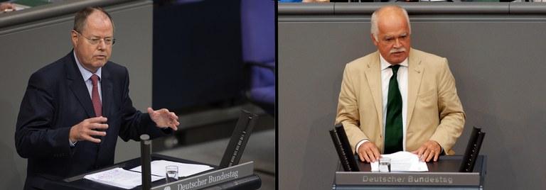 Foto: Foto: Deutscher Bundestag / Ute Grabowsky/photothek.net (l); Lichtblick/Achim Melde (r)